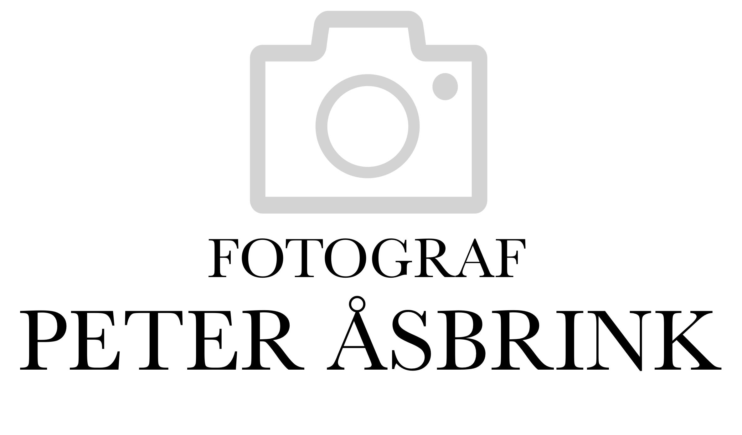 Fotograf Peter Åsbrink